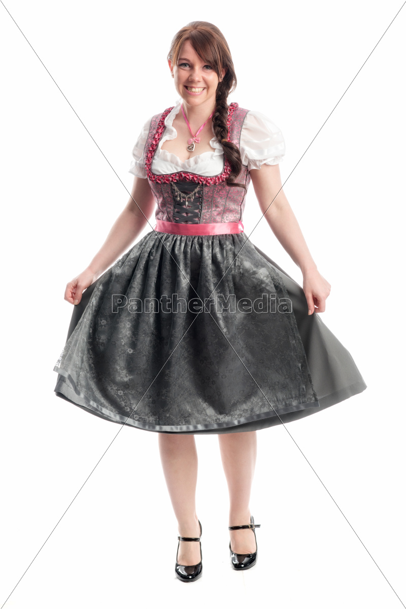 süße, bayrin, im, dirndl - 12210390