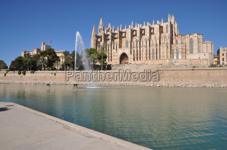 kathedrale in palma mallorca