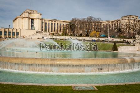 park in paris near the eiffel