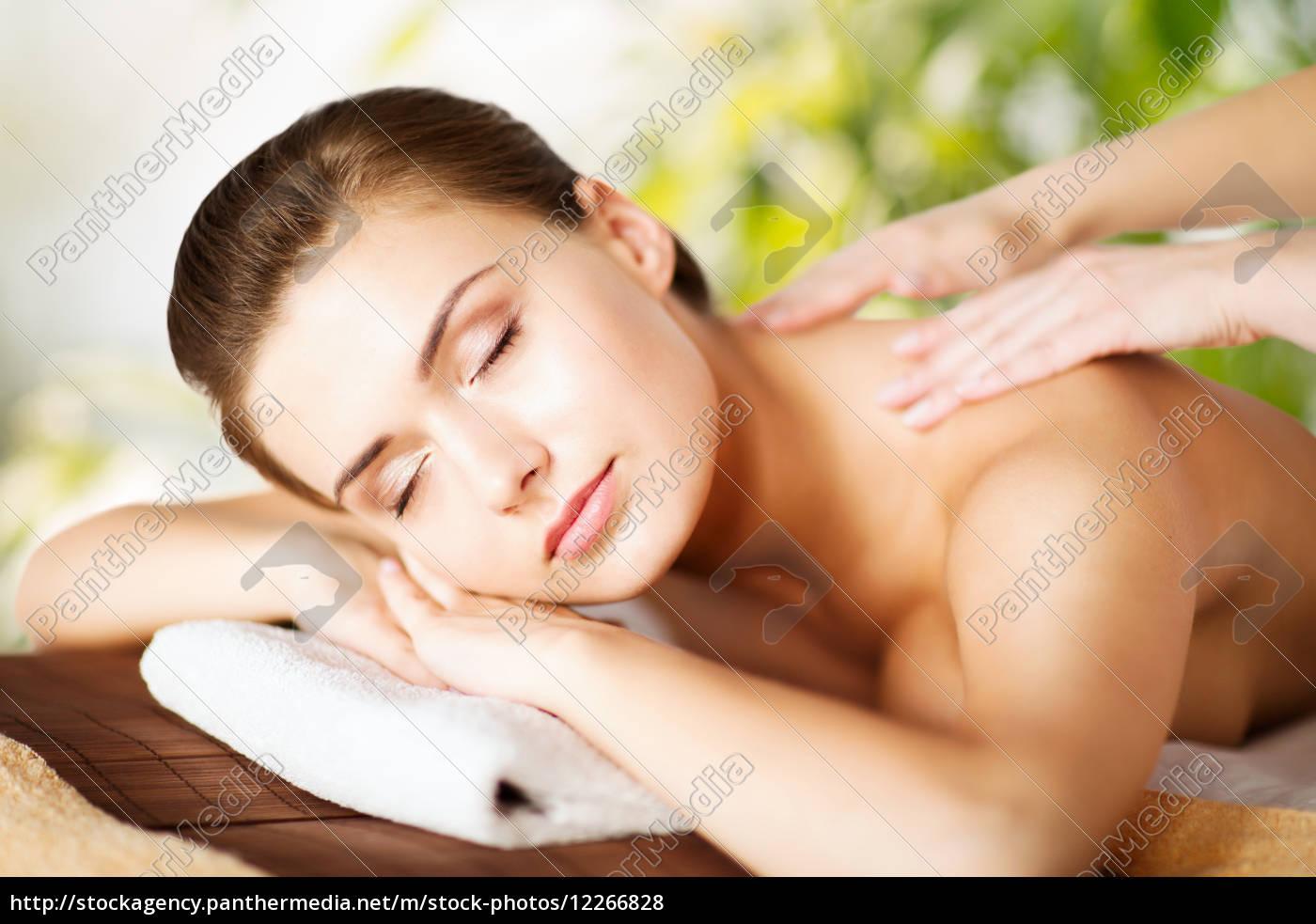 frau, in, spa- - 12266828
