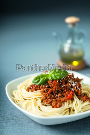 italienische spaghetti bolognaise