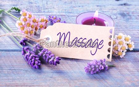 spa massage hintergrund