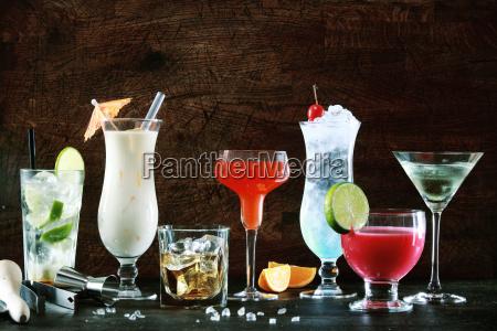 udvaelgelse af festlige julen drikkevarer