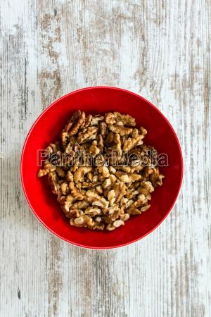 walnuts in a bowl
