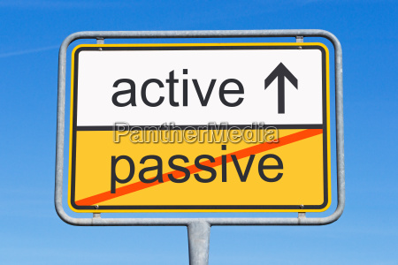 aktiv statt passiv