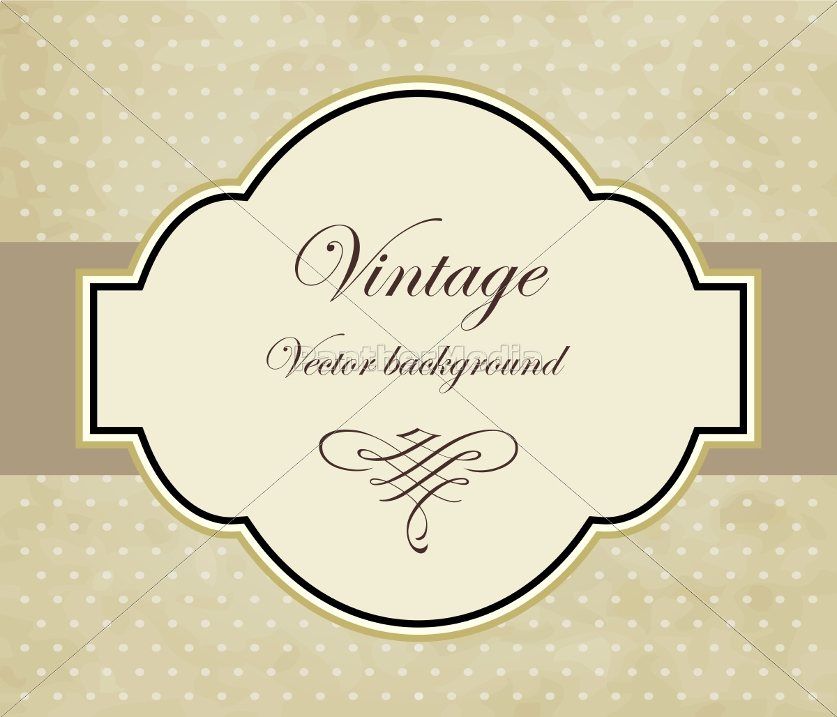 vintage-rahmen vektor-hintergrund - Lizenzfreies Foto - #12316520 ...