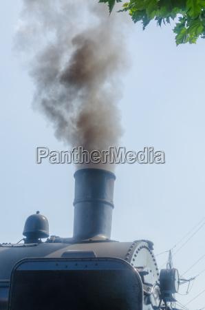 dampf lokomotive rauch