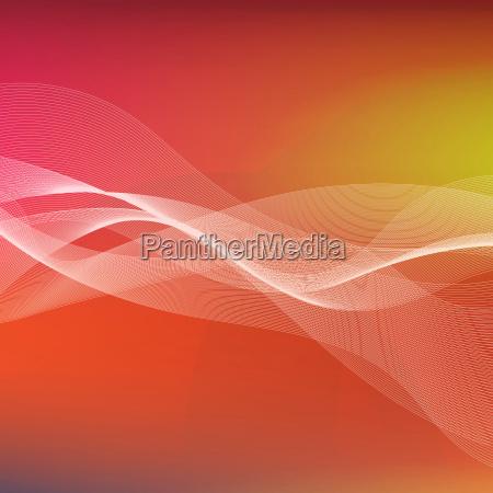 abstract waves oscillation