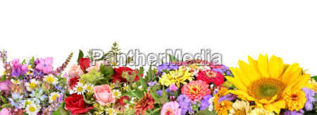 different flower bouquets