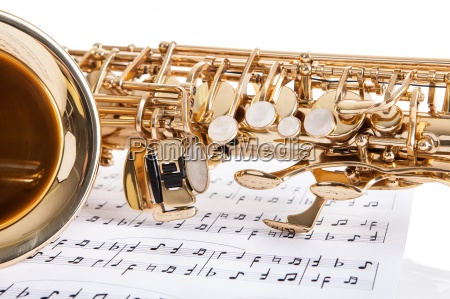 close up of trumpet