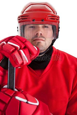 portrait des berufshockeyspielers
