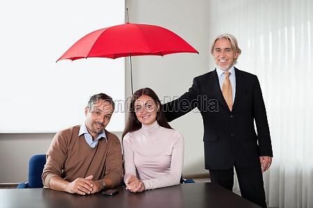 agent bereitstellung von versicherungsschutz zu einem