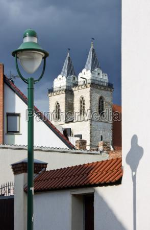 schoenebeck salzelmen salzelmen saxonyanhalt germany churchtower