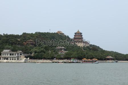 der sommer palast in peking china