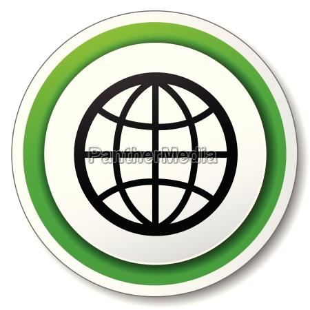 vector earth icon