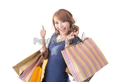 froehlich einkaufen frau