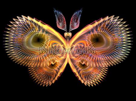 glow von butterfly