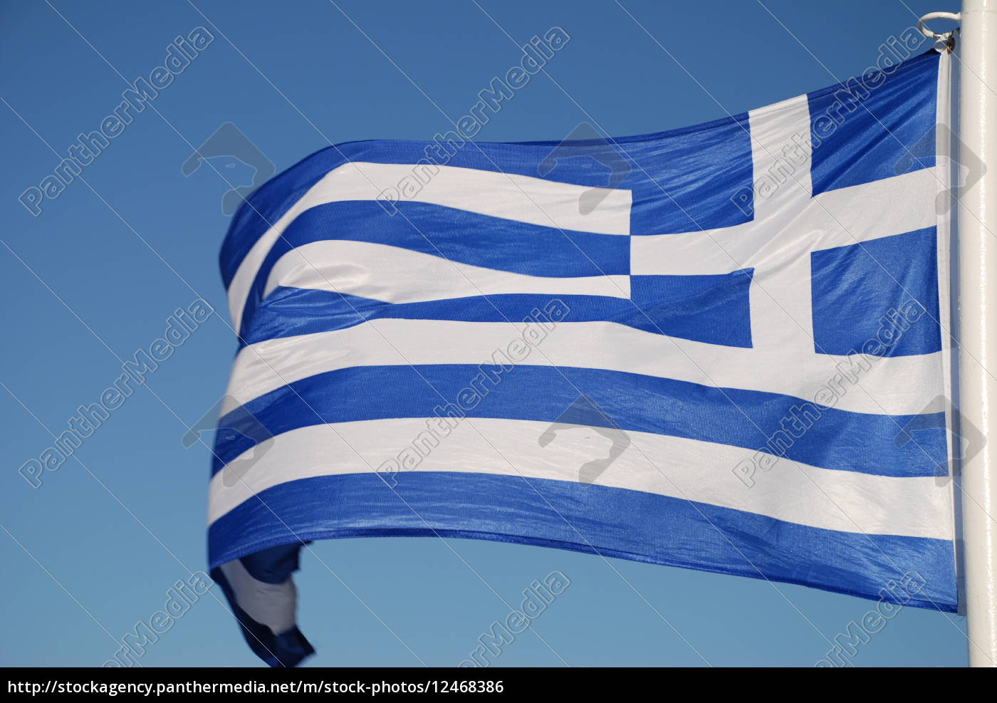 hellas, fahne, banner, flagge, griechenland - 12468386