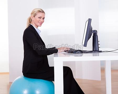 komfortables arbeiten