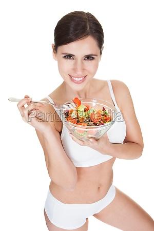frau essen nahrungsmittel lebensmittel nahrung freisteller