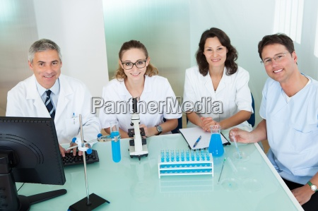 paramedical or technical staff in a