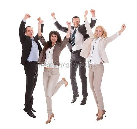 portraet der erfolgreichen unternehmensgruppe
