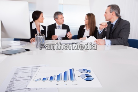 business people discussing together