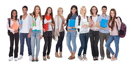 multi racial of gruppe kursteilnehmer