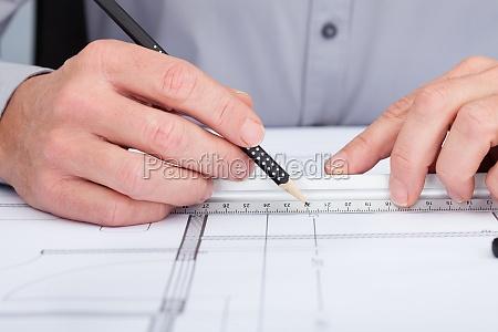 hand architektonisch model entwurf konzept konzeption