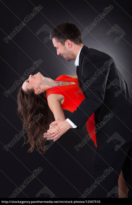 junge, paar-tanzen - 12507510