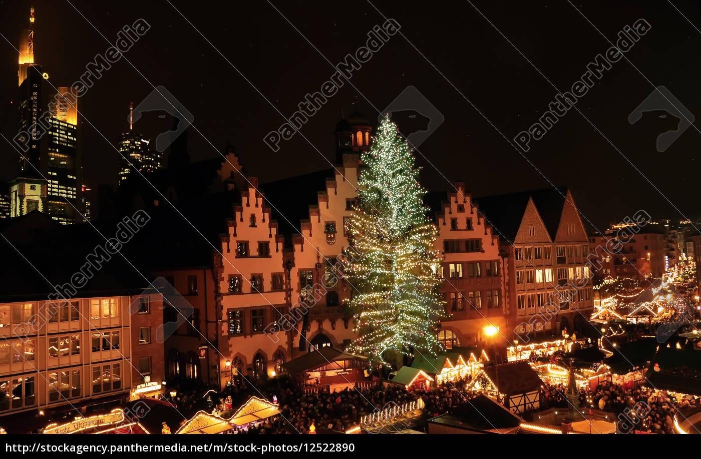 Frankfurter Weihnachtsmarkt.Stock Photo 12522890 Frankfurter Weihnachtsmarkt