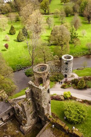 af den irske blarney castle beromt
