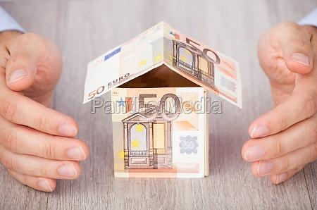 casa construccion euros negocios trabajo mano
