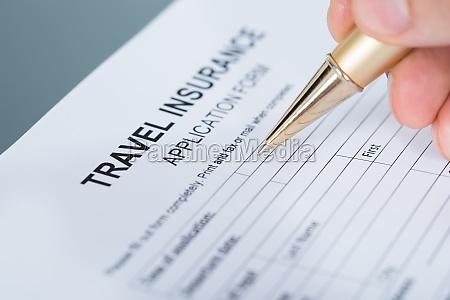 hand fuellende reiseversicherung