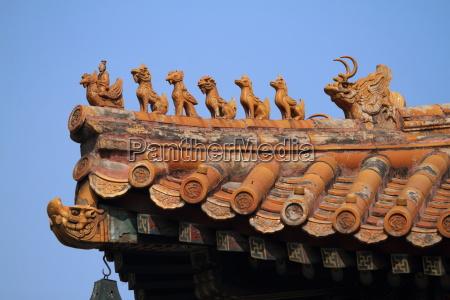 der lama tempel in peking china