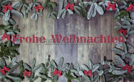 wood background frohe weihnachten