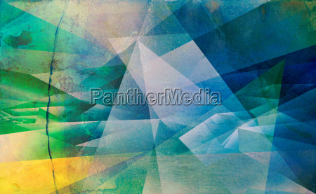 textures polygonal painting