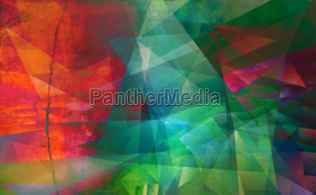 polygonal painting textures