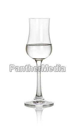 gefuelltes grappaglas