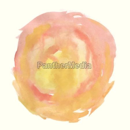abstrakte rosa aquarellpalette