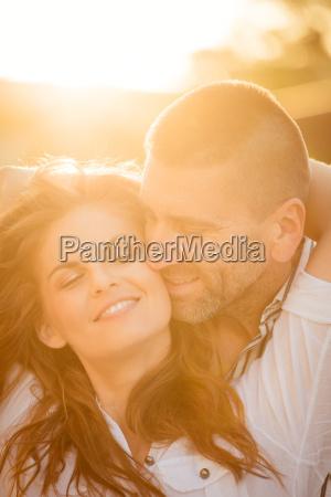 intime momente paar in der liebe