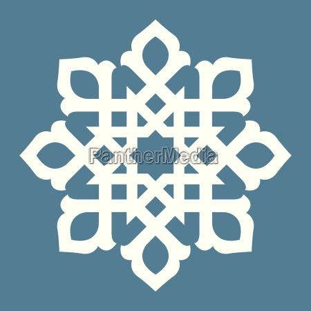 abstraktes symmetrisches design
