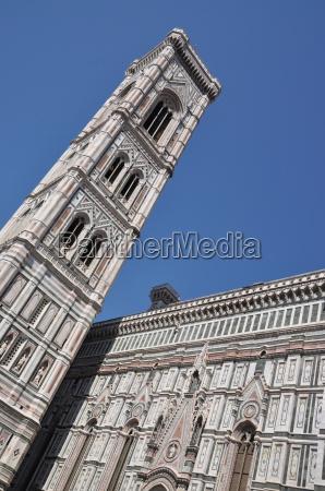 campanile di giotto in florenz