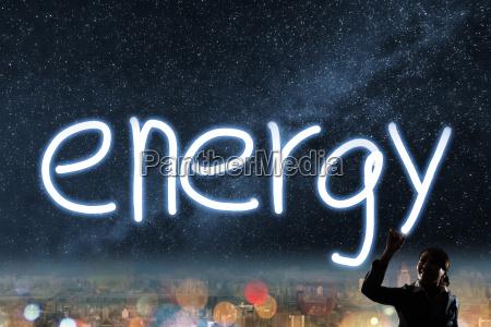 konzept der energie