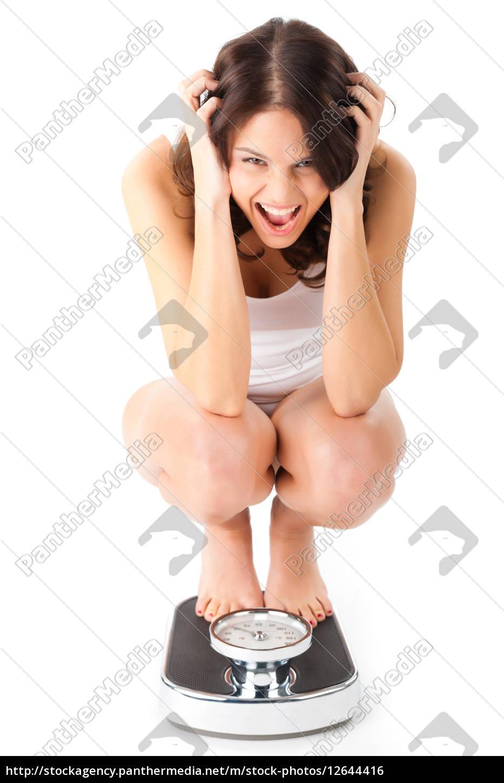 Junge Mädchen reiten große Schwänze