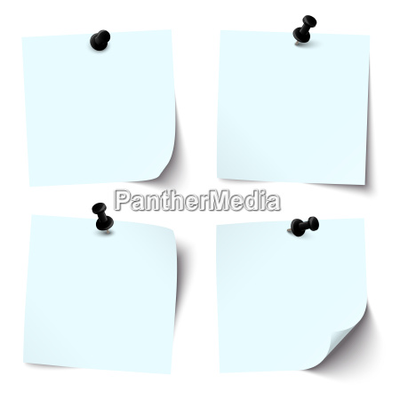 collection of colored sticky papers with