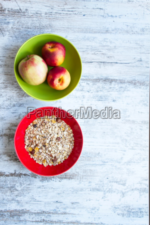 fruit and cereals
