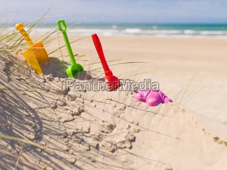 buddeln am strand