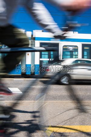 stadtverkehrskonzept, -, pendeln, methoden, -, auf - 12709806