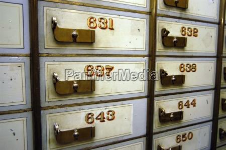 schliessfach schliessfacher safe tresor sicherheit bank